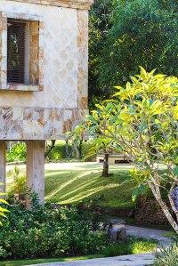 The view from terrace of the Pool Villa Club Senggigi restaurant