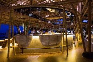 The Bamboo Bar hanging seat