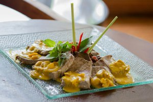 Tuna Bosnik, one of the authentic dishes by Chef Cliff Alexander